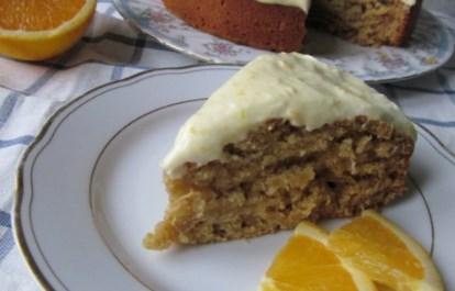 Рецепт цитрусового пирога с орехами и заварной помадкой
