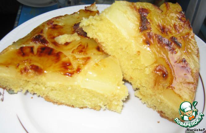 Пирог 'Жареные ананасы'