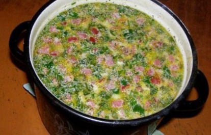 Суп из колбасного сыра с курицей рецепт с пошагово