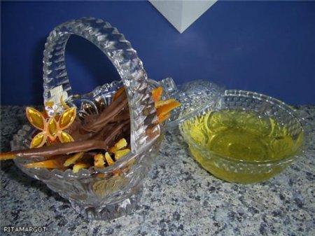 Хрустящие, ароматные цукаты в шоколаде