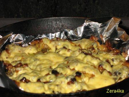 Царская картошка под сыром
