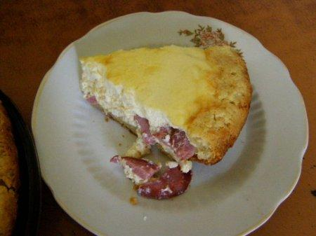 Омлетный пирог (фото рецепт)