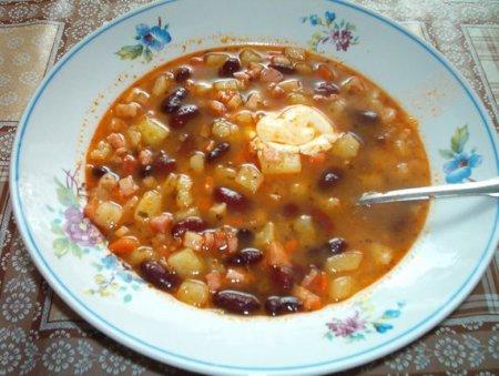 """Суп """"Фасолька"""""""