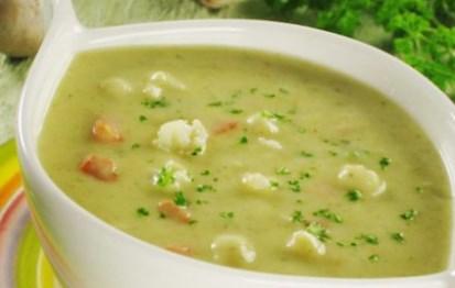 Рецепт супа-пюре из картофеля и фасоли