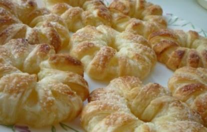 Рецепт ананасов в слоеном тесте