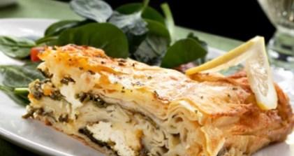 Рецепт омлета со шпинатом и сыром фета