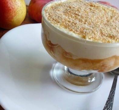 Новогодний рецепт десерта из печенья с инжиром