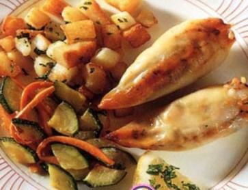Новогодний рецепт жареных кальмаров