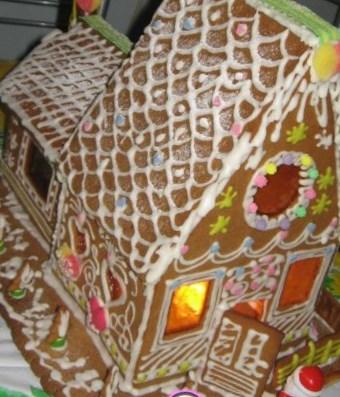 Новогодний рецепт пряничного домика