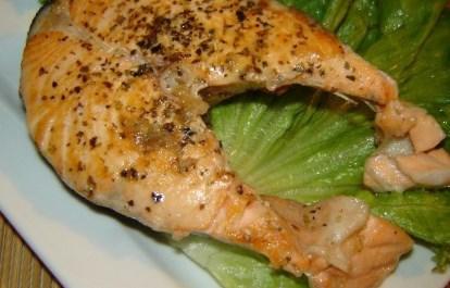 Новогодний рецепт лосося со сливками