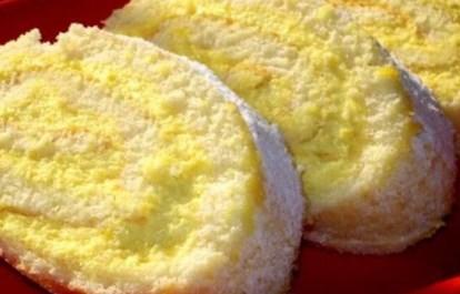 Рецепт рулета с лимоном