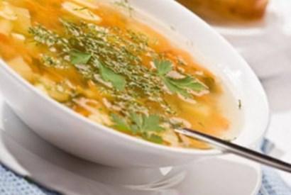 Рецепт супа с грибами и фасолью