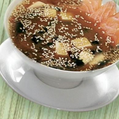 Рецепт мисо-супа с лососем