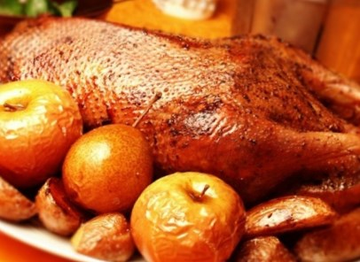 Новогодний рецепт жареной утки