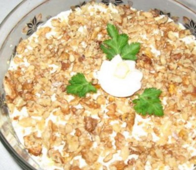 Новогодний рецепт салата «Король»