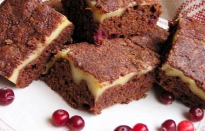 Новогодний рецепт квадратиков из шоколада