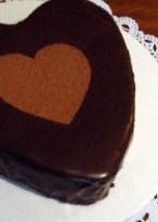 Рецепт на 14 февраля - торт «Бархатное сердце»