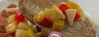 Рецепт на 14 февраля - Отбивные по-карибски