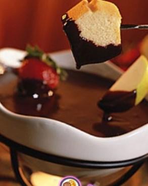 Рецепт на 14 февраля - «Шоколадное фондю»