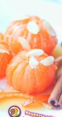 Рецепт на День Святого Валентина - Мандарины в карамели