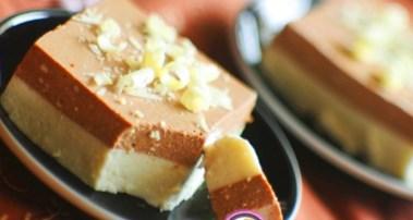 Рецепт на День всех влюблённых - Ванильно – шоколадный творожный десерт