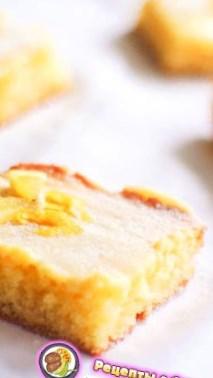 Рецепт на День Святого Валентина - Лимонные пирожные с белым шоколадом