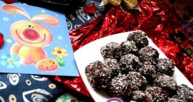 Рецепт на День Святого Валентина - Конфеты «Шоколадные шарики»