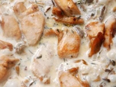Рецепт на Старый Новый год жаркого из зайца в сметанном соусе