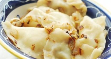 Рецепт на Старый Новый год вареников с печенью