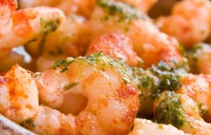 Рецепт на 14 февраля - Креветки в сливочном соусе