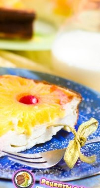 Рецепт на День Святого Валентина - Творожная запеканка с ананасом