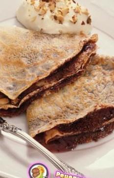 Рецепт блинчиков с шоколадом - рецепт блинов на Масленицу