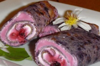 Рецепт чернично-коричных блинчиков - рецепт блинов на Масленицу