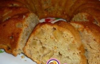 Рецепт постного кекса с абрикосовым джемом