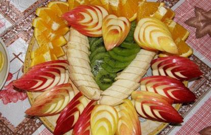 Рецепт постного фруктового салата