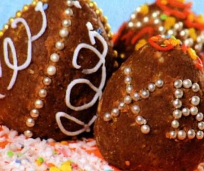 Рецепт трюфельных мини-яиц на Пасху