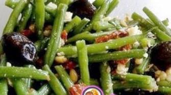 Рецепт салата из фасоли с грецкими орехами