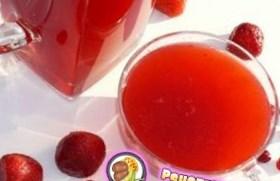 Рецепт клубничного кваса