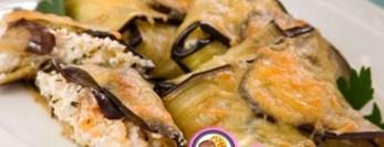 Рецепт конвертиков из баклажанов с сыром