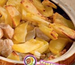 Рецепт рыбы, запеченной с картофелем