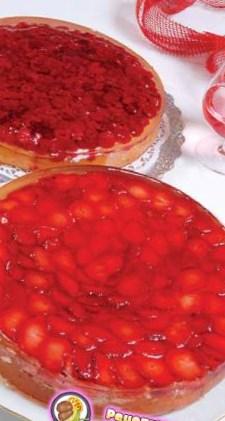 Рецепт ягодно–фруктового бисквита