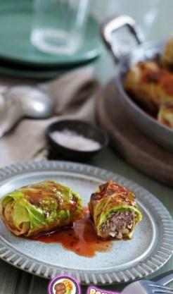 Рецепт пряных голубцов с картофелем и бараниной