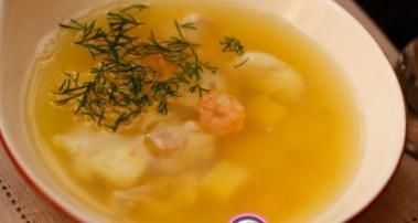 Рецепт бразильского супа с морепродуктами и рыбой