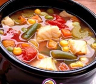 Рецепт острого рыбного супа