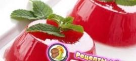 Рецепт арбузного желе с фисташковой карамелью