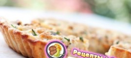 Рецепт киш – лорена с курицей и грибами