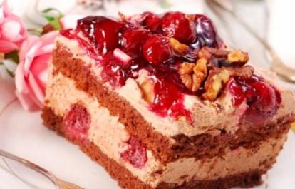 Рецепт бисквитного торта «Сказка»