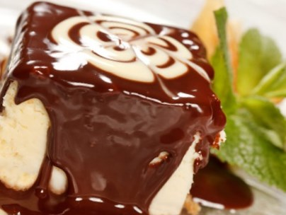 Рецепт запеканки творожной в шоколадной глазури
