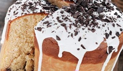Рецепт кулича с шоколадным кремом