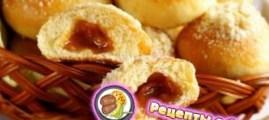 Рецепт сдобных булочек с добавлением карамели
